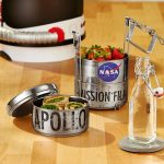 Apollo 11 Mission Film Reel Lunch Canister Features a Three-Part-Bento Style Design