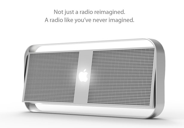 Apple Radio by Fraser Leid