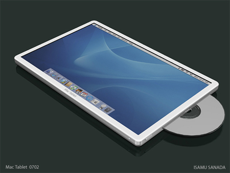 apple style mac tablet