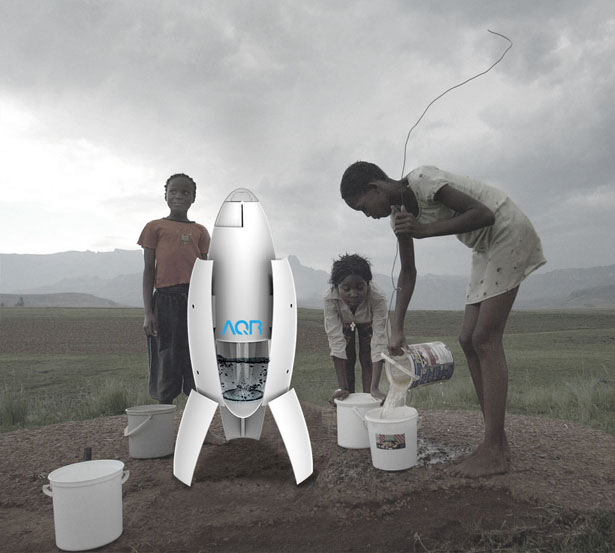 AQR Air Water Collector by Chung Li, Yeh Chun-ming, Cheng Kai-Chun, and Lo Hung-Wei