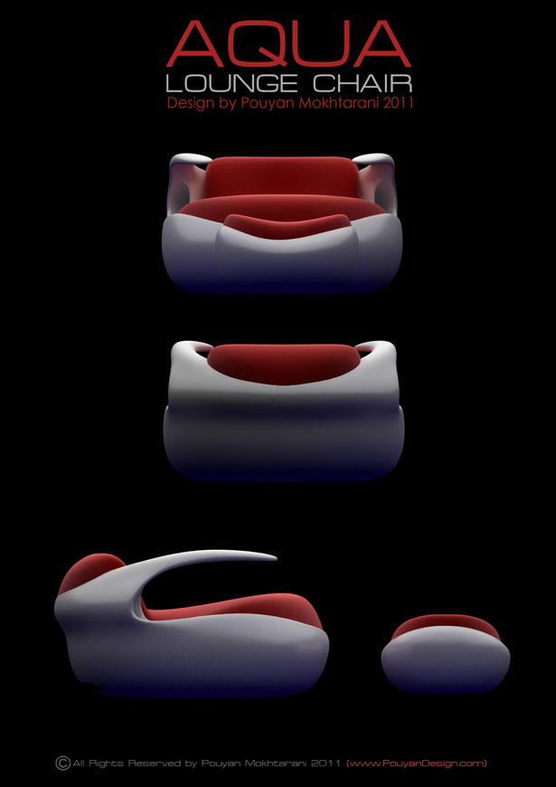Aqua Lounge Chair by Pouyan Mokhtarani