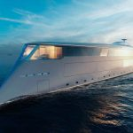 Sinot Aqua Superyacht Concept with Hydrogen-Electric System