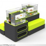 Aqua Sofa: Unique Sofa Concept with Fish Tank