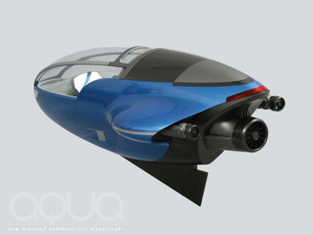 aqua underwater vehicle