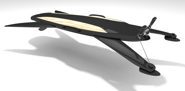 Aquaboard Breaks Water Surface and Allows You to Explore the Depth of the Oceans