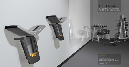 aquatio fitness drinking fountain