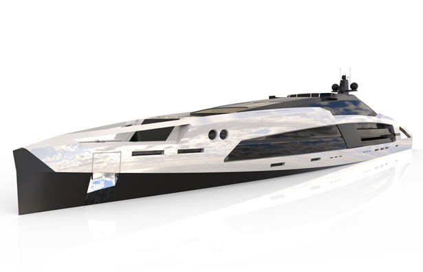 Aqueous 120-meter Superyacht Concept by Facheris Design