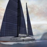 Aquila : 50-meter Sailing Yacht with Flexible Solar Sails