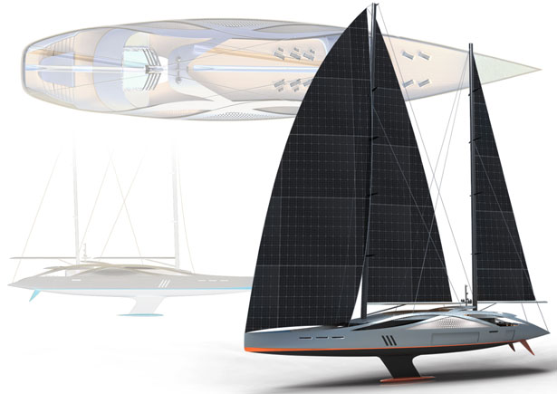 Aquila Sailing Yacht by Dani Santa Vives
