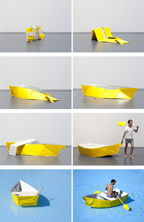 Ar Vag Foldable Boat by Thibault Penven