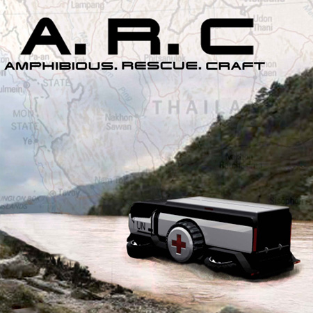 arc amphibious rescue craft
