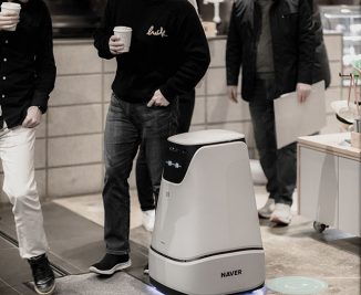 Arc Bot – Smart Delivery Service Robot for Naver