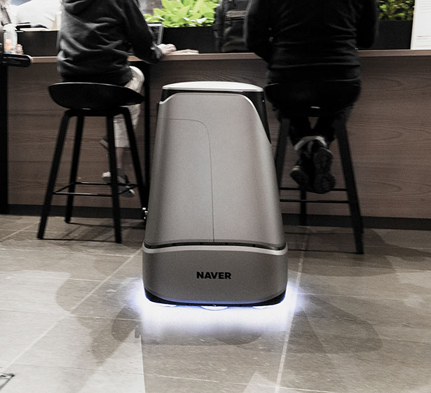 ARC BOT - Smart Delivery Service Robot for Naver