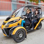 Arcimoto FUV: Fun Three-Wheel Utility Electric Vehicle