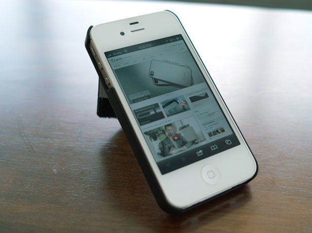 Arctic Wallet Stand for iPhone