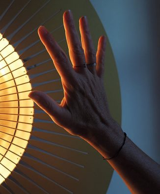 The Design of Ardent Heating Device Was Inspired by The Sun