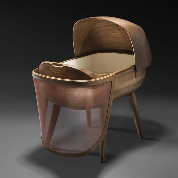 Argo Crib Protects Baby from Damaging Electromagnetic Waves by Noir Vif