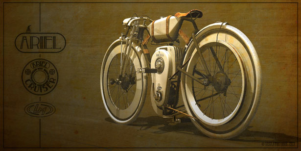 Ariel Cruiser by Vasilatos Ianis Has Won Local Motors Cruiser Design Challenge