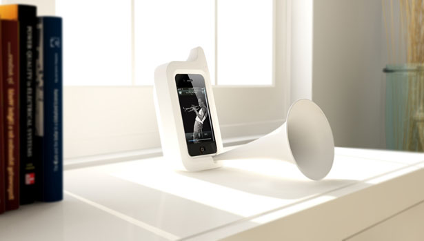 Arkcanary II Analog Acousting Speaker for iPhone 4