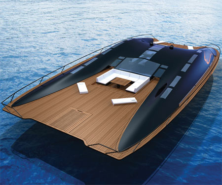 ARK Solar Boat Combines An Habitable Floating Home With Maximum Luxury