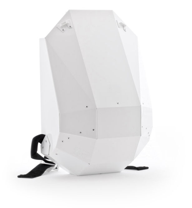 Armadillo Folded Backpack by LIJMBACH