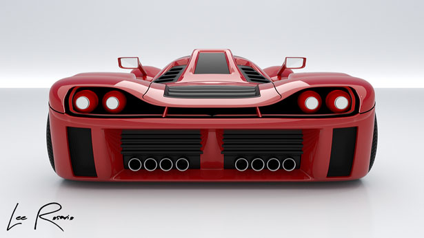 Armano Concept Supercar by Lee Rosario