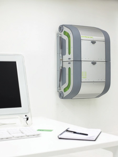 Armarac : First Zero-Footprint and Compact Enclosure for