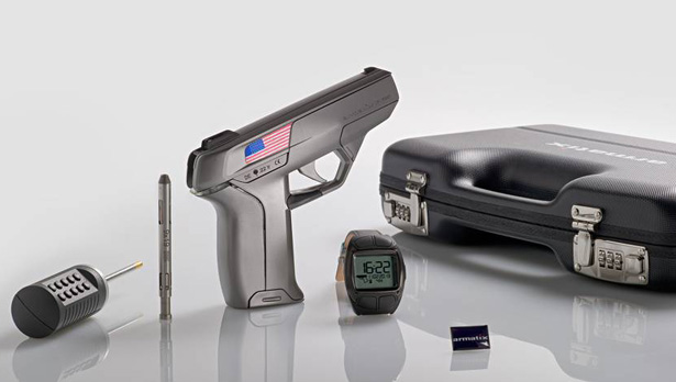 Armatix Smart System Offers Smartwatch Controlled Handgun