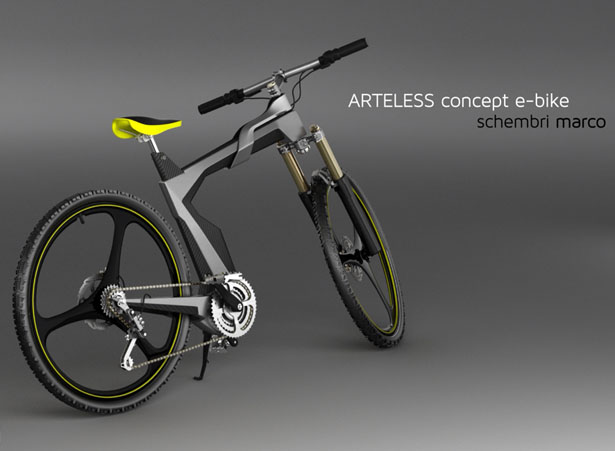 Artless Concept City Bike for Lombardo by Marco Schembri