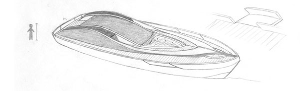 Arya Boat Concept by Marco Schembri