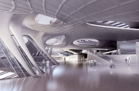 asemic scapes medical center concept by sarah schneider