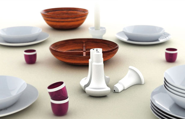 Asia Minor Tableware by Stelios Germalidis