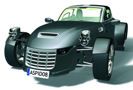 aspid roadster 400 hp