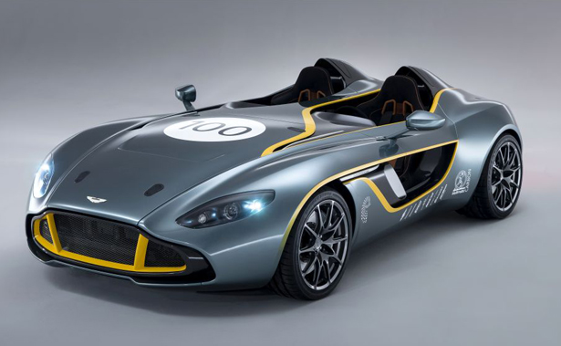 Aston Martin Cc100 Speedster Visionary Concept Car To Celebrate