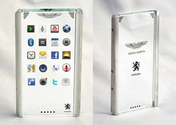 Aston Martin Luxury Mobile Phone by Mobiado