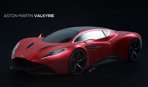 Aston Martin Valkyrie Concept Car by Jennarong M.