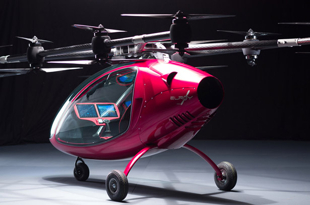 Fly Astro Elroy Passenger Drone Features High-Performance Electric Motor for Eco-Friendly Long Commutes