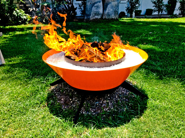 Astrofire Outdoor Fireplace by Modfire