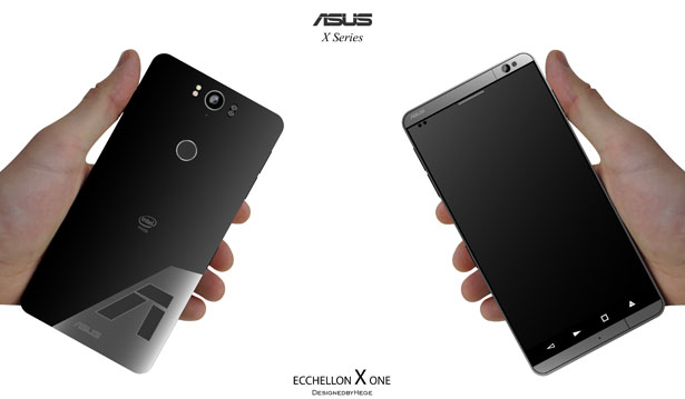 ASUS ECCHELLON X One Concept Phone by Mladen Milic