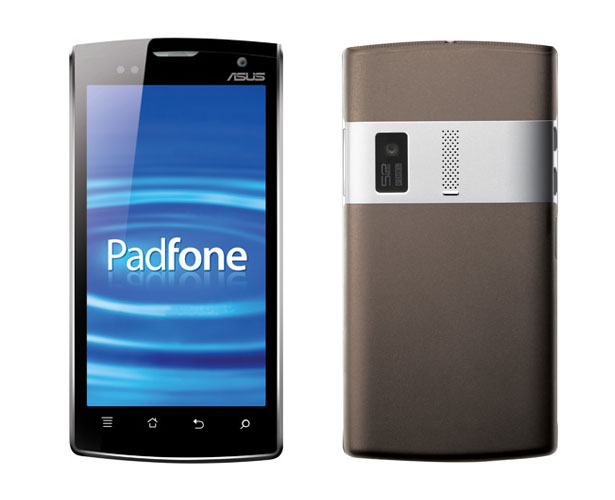ASUS Padfone For Both Smartphone and Tablet Users