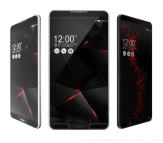 ASUS Z3 VENOM Concept Gaming Phone for Extreme Gamers