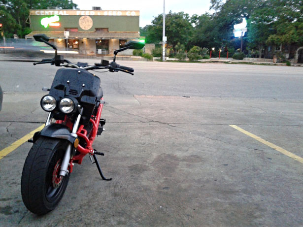 ATX 8080 All Electric Motoscooter