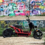 ATX 8080 All Electric Motoscooter Powered by KLDOneDrive and Samsung SDI Technology