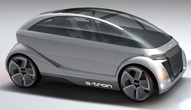 Audi A 2.0 Electric Car