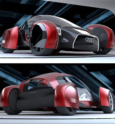 Audi A0 QS Features Stunning Aesthetics and Great Performance