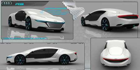 Audi A9 Concept Starts The Competition In The New Created Luxury