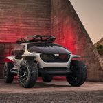 Futuristic Audi AI:TRAIL Concept Car with Drones Has Been Designed for Off-Road Use