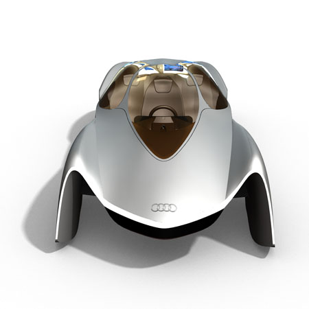 Audi Avatar 3-Seater Electric Supercar for 2032