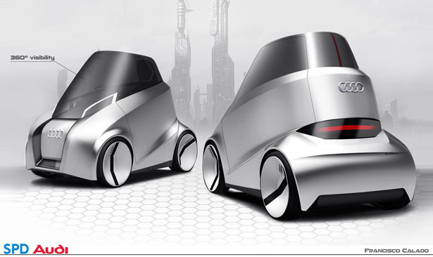 Audi Capsule Concept Car by Francisco Calado