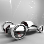 Audi Compact And Efficient Futuristic Car Gives True Sensation Of A Racing Car To The Rider